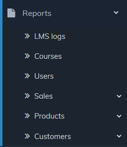 Site level reports