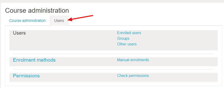 User enrollment